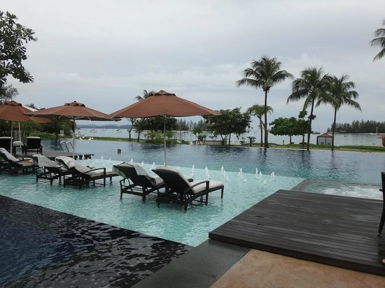 The Danna Langkawi, Malaysia:                   great pool area