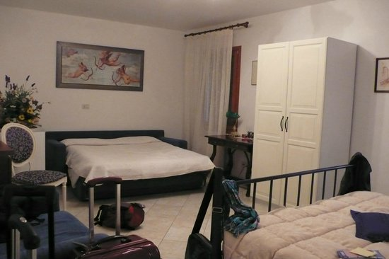 Casanova ai Tolentini:                   Sofa bed