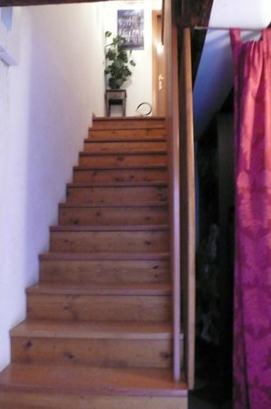 Casanova ai Tolentini:                   Stairs to the first floor
