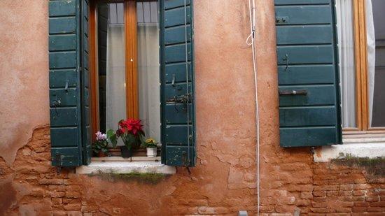 Casanova ai Tolentini :                   View from the window