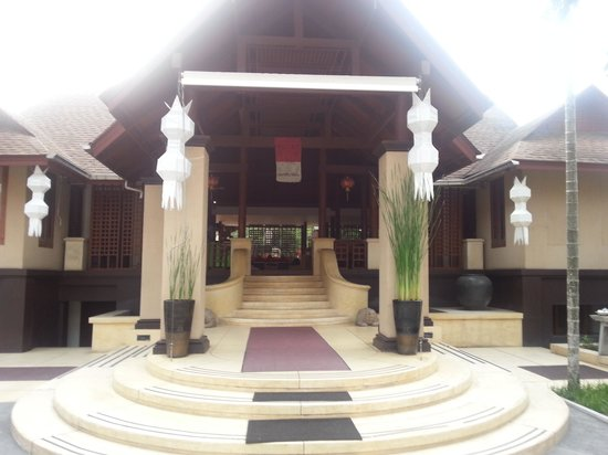 Pavilion Samui Villas & Resort:                   Entrance to libby