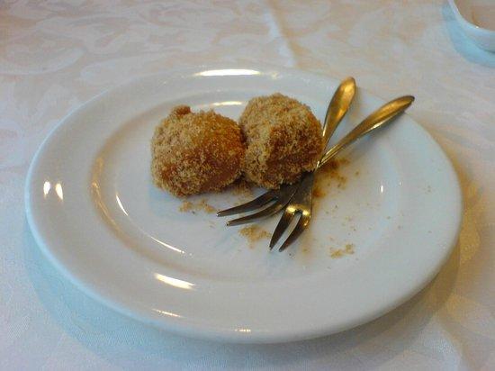 Shin Yeh - Xinyi New World:                   最後にサービスで出てくる欣葉の黄な粉餅