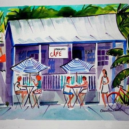 Photo of French Restaurant Frenchies Cafe at 529 United St, Key West, FL 33040, United States