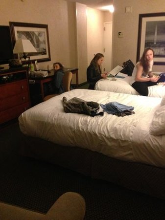 DoubleTree by Hilton - Washington DC - Crystal City:                   the room- number 828