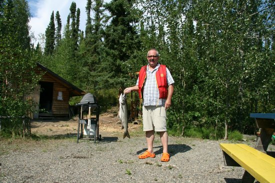 Frances Lake Wilderness Lodge: Petri heil