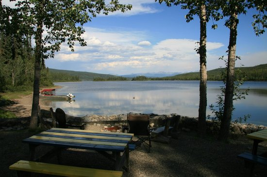 Frances Lake Wilderness Lodge: Aussicht
