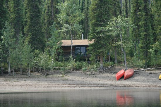 Frances Lake Wilderness Lodge: unterwegs