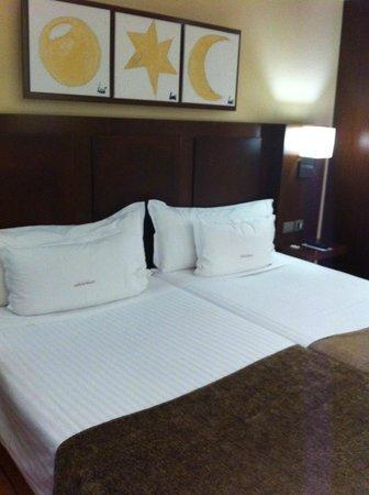 Hotel Acta Atrium Palace: lits