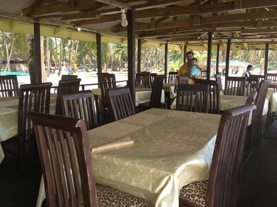 La Campagne Tropicana Beach Resort:                   Restaurant next to the beach