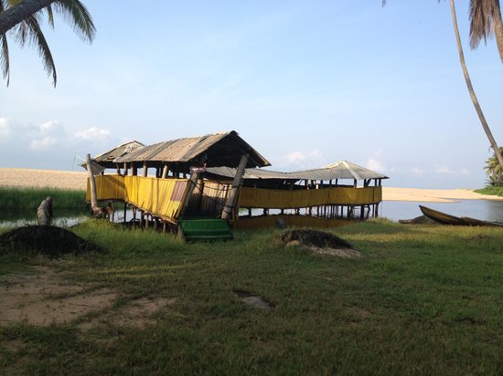 La Campagne Tropicana Beach Resort:                   Lagoon Side Boat House