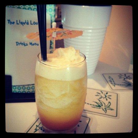 The Liquid Lounge: Sunrise Mocktail