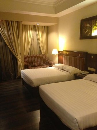 A'Famosa Resort Hotel Melaka:                   Two Queen Beds.