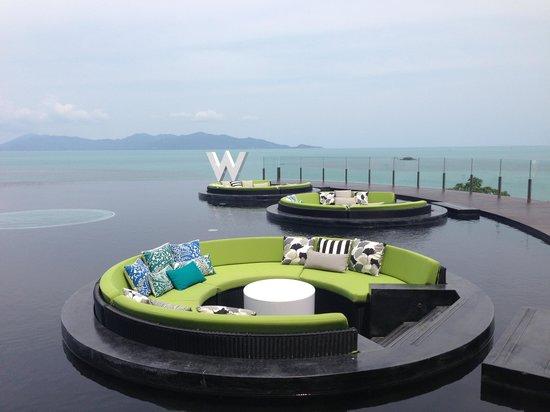 W Retreat Koh Samui:                                     Lobby , more photos at 