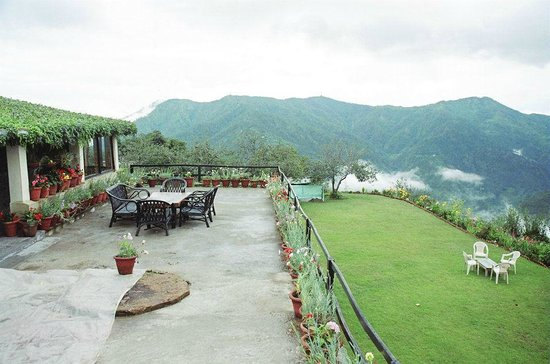 view from terrace - Picture of Cedar Lodge, Ramgarh - TripAdvisor