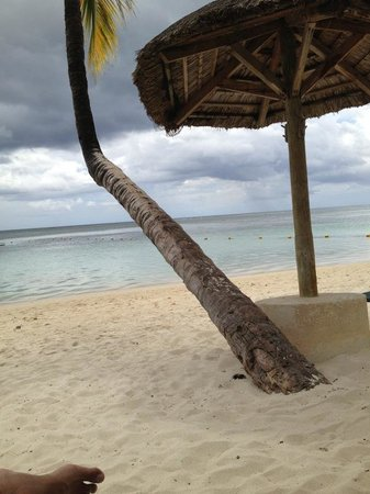 Sugar Beach Resort & Spa:                   Private Beach Area