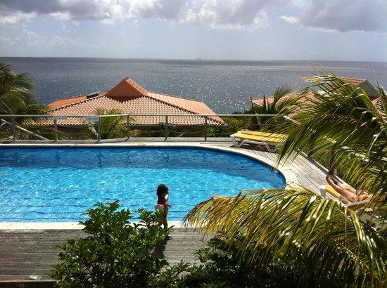 Caribbean Club Bonaire :                   lekker zwemmen bij Caribbean Club