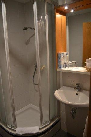 سنتر هوتل سكالدبريد:                                     bathroom                                  