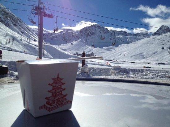 Tignes Cuisine :                   Asian in the Alps
