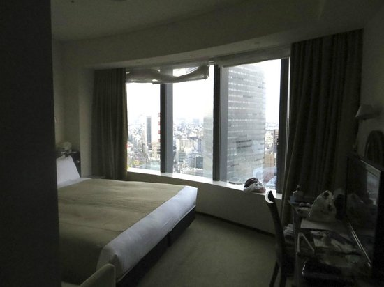 Park Hotel Tokyo:                   One half of the Premium King room (living area with extra bed and cot are behi