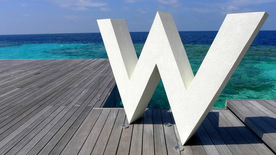 W Maldives:                                     The Biggest W (Welcoming)