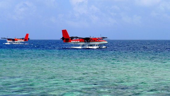 W Retreat & Spa Maldives:                                     Seaplane