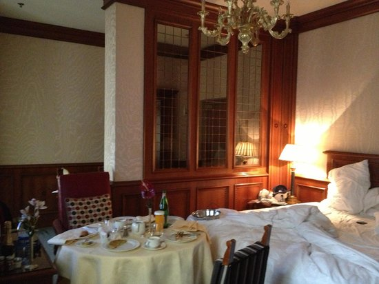 The Westin Excelsior Florence:                   Perfect Service