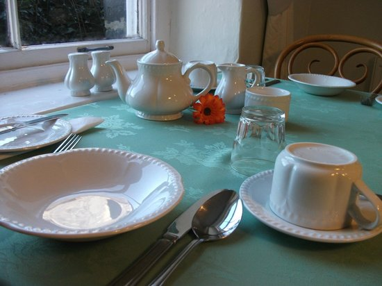 Bryn Llewelyn Guest House: Breakfast is included at Bryn Llewelyn Bed and Breakfast