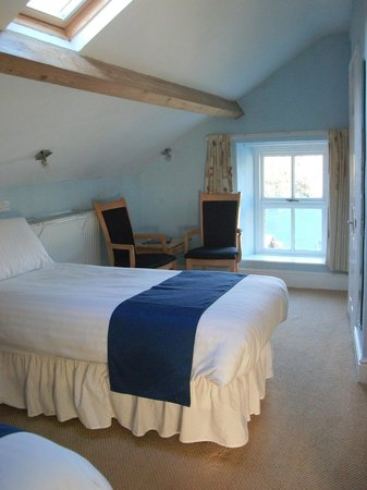 Bryn Llewelyn Guest House : Twin room en suite at Bryn Llewelyn Bed and Breakfast