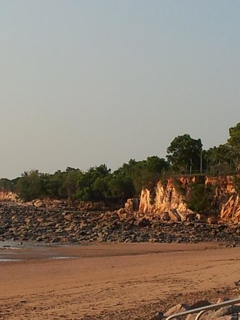 Bar and Blue Marlin Bistro:                   Cliffs near Darwin Trailer Boat Club