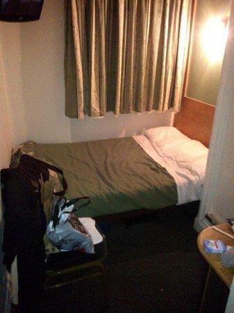 """Westbury Hotel Kensington:                                                       la """"suite"""" vista muro"""