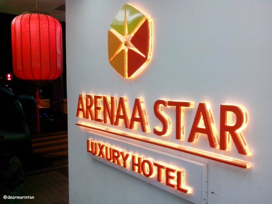 Arenaa Star Hotel:                   Entering Arena Star Luxury Hotel