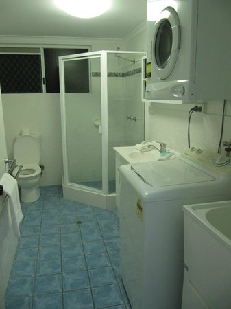 Agincourt Beachfront Apartments:                   All facilities you need including washing machine & tumble dryer