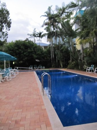 Agincourt Beachfront Apartments:                   20m lap pool