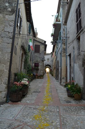 Agriturismo Le Mole sul Farfa:                   Castelnuovo di Farfa - the nearest city