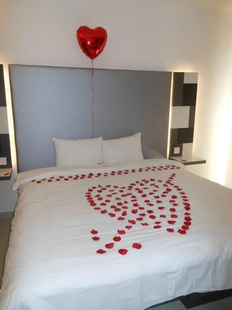 Hotel Valentina:                   Our Valentines Bedroom