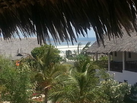 Jacaranda Beach Resort :                   vista dal balcone camera