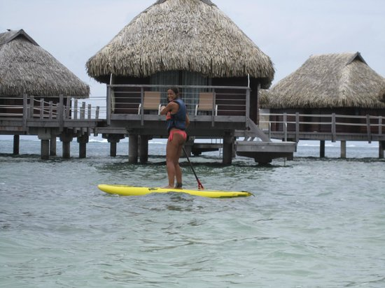 Manava Beach Resort & Spa - Moorea:                   Over Water Bungalow