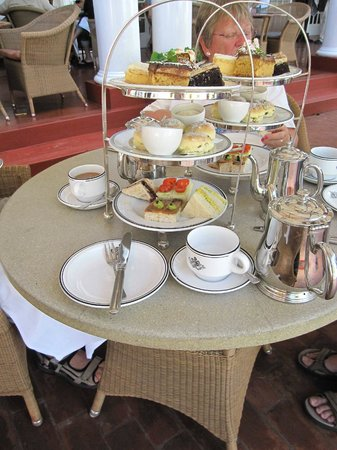 The Victoria Falls Hotel:                   Afternoon tea for Two