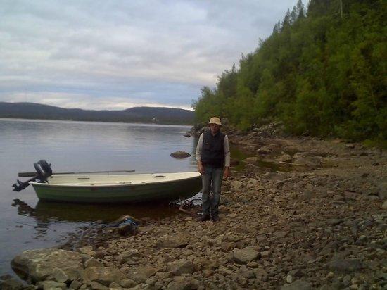 Uruniemi Camping:                   Boot