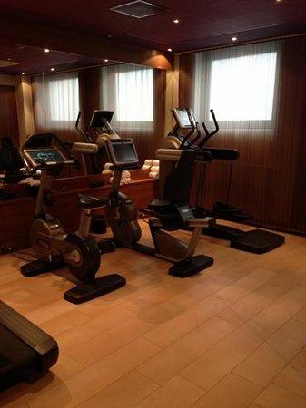Sofitel Legend The Grand Amsterdam:                                     Salle de fitness.