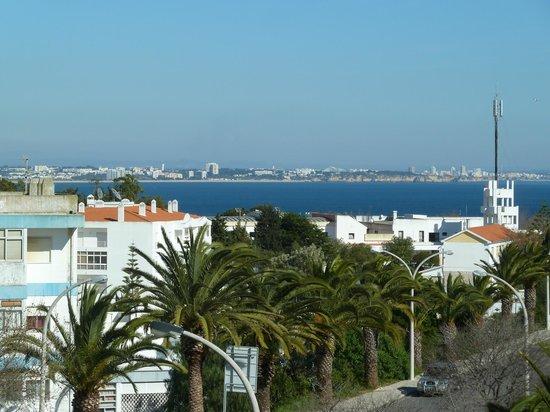 Montemar:                   Blick vom Balkon Zimmer 307