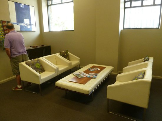 Mantra Collins Hotel:                   Guest lounge with free internet and printer