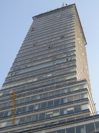 The torre picture of torre latino mexico city tripadvisor for Piso 9 torre latino