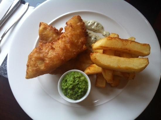Carlton Manor Hotel:                   Haddock and Chips