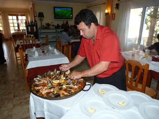 Cala Ferrera, Spain: Restaurante Ficus - Paella