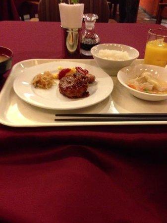 The Hedistar Hotel Narita:                   朝食