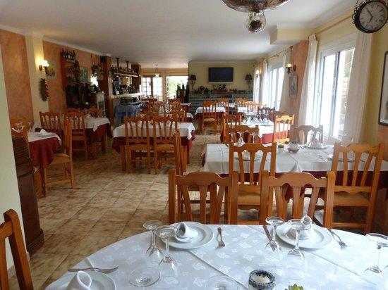 Cala Ferrera, España: Restaurante Ficus - interiores