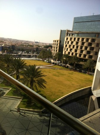Al Faisaliah Hotel:                   view from room