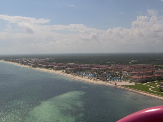 Moon Palace Cancun:                   Moon Palace - Sunrise, Nizuc and Grand sections