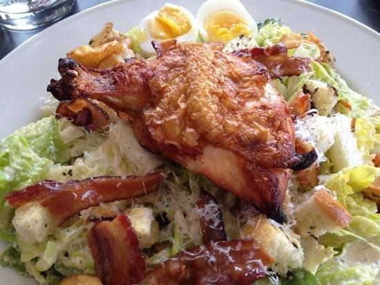 Oliver Bonacini Blue Mountain:                   hearty Caesar salad